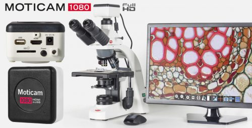 Videocamera Microscopi Moticam 1080 USB HDMI