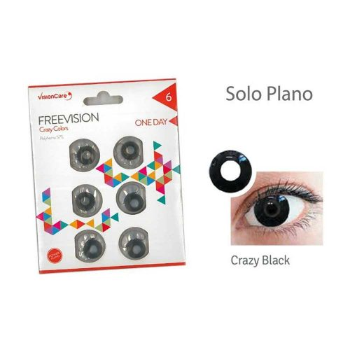 Freevision Crazy Colors Giornaliere Lenti a Contatto Neutre