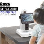Microscopio digitale con schermo LCD