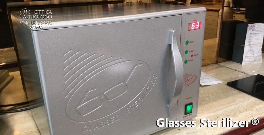 glasses sterilizer Ottica Astrologo