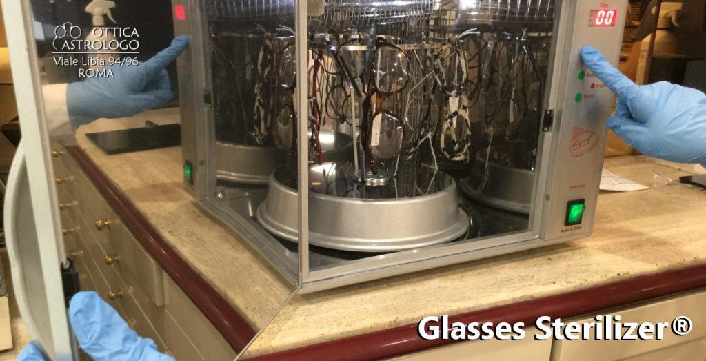 protocollo igienizzazione occhiali Ottica Astrologo