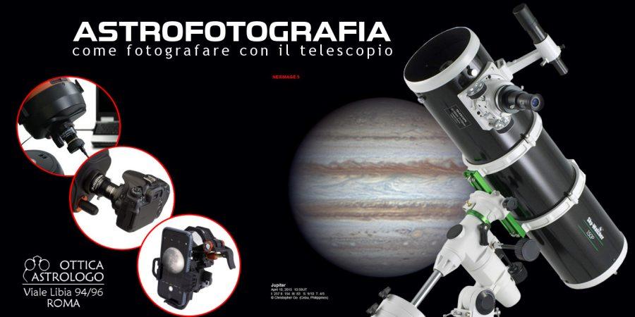 Astrofotografia come fotografare con il telescopio