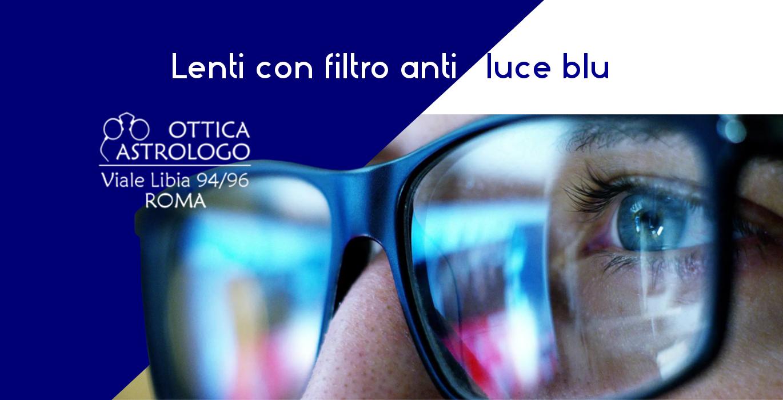 occhiali da vista filtro anti luce blu