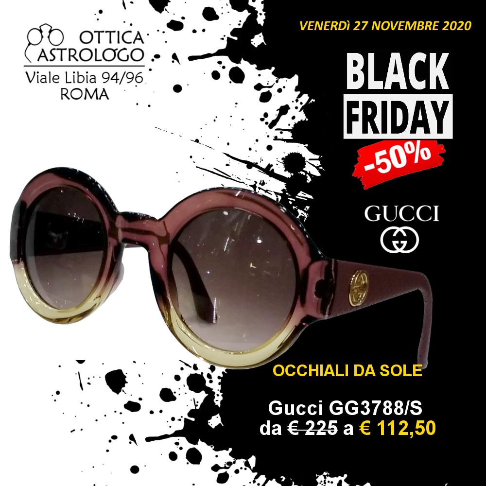 Black Friday 2020 sconto del 50% su occhiali da sole Gucci