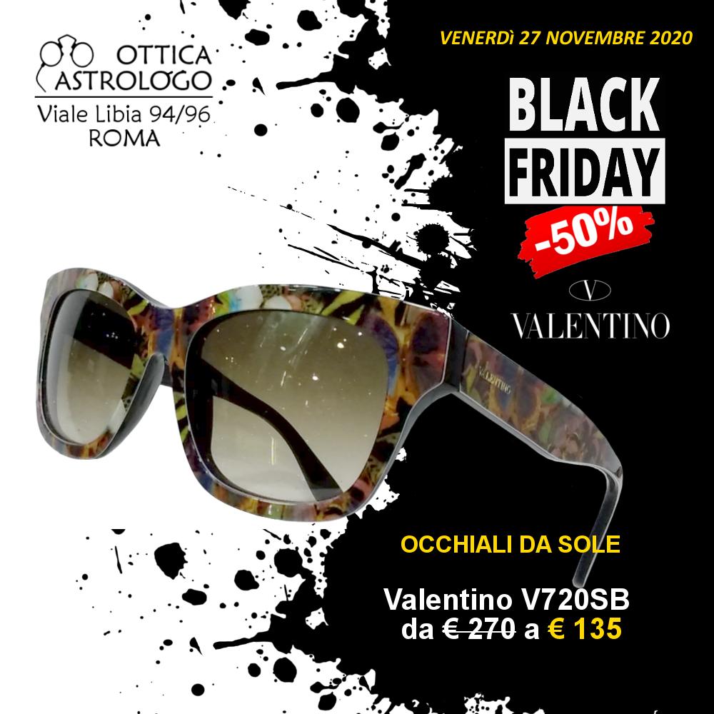 Black Friday 2020 sconto del 50% su occhiali da sole Valentino