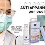 Prodotti anti appannamento per occhiali