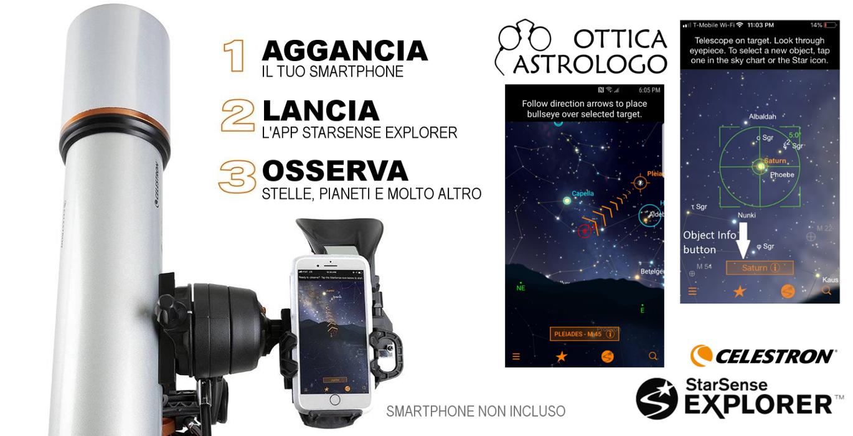 telescopi celestron starsense explorer in vendita a roma
