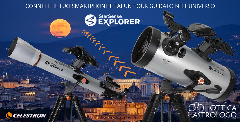 Telescopi Celestron StarSense Explorer