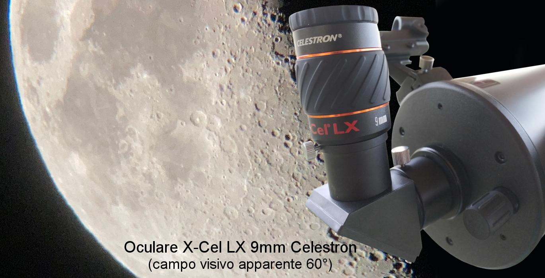 oculari per telescopio modello X-Cel-LX